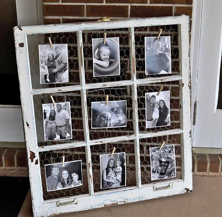 לוח מודעות מחלון ישן