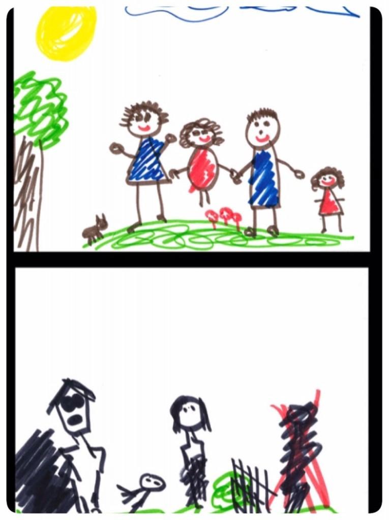ציור ילדים מתוך הפינטרסט