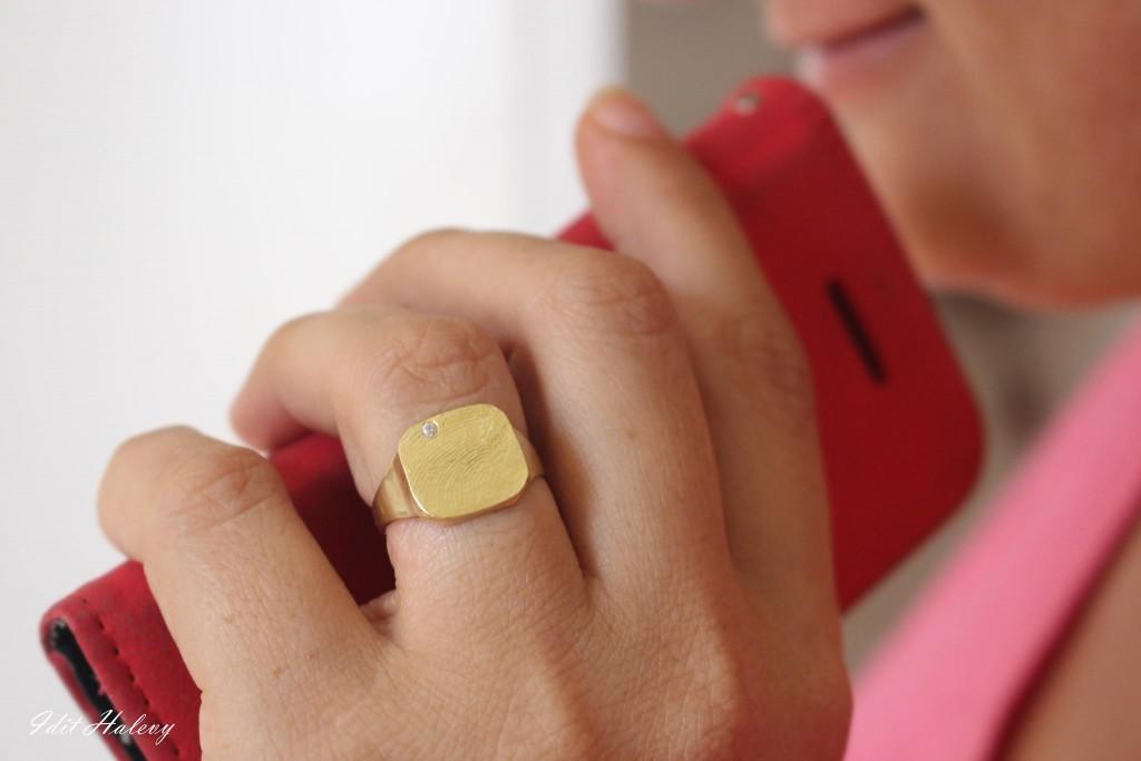 הטבעת המושלמת שלי צילום: עידית הלוי