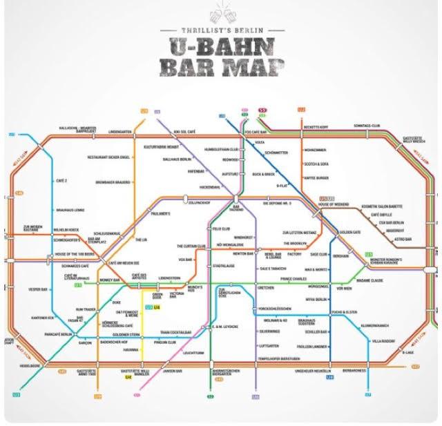 מפת התחבורה בברלין